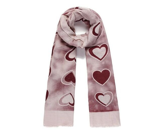 Luxusní šátek Hearts Vine
