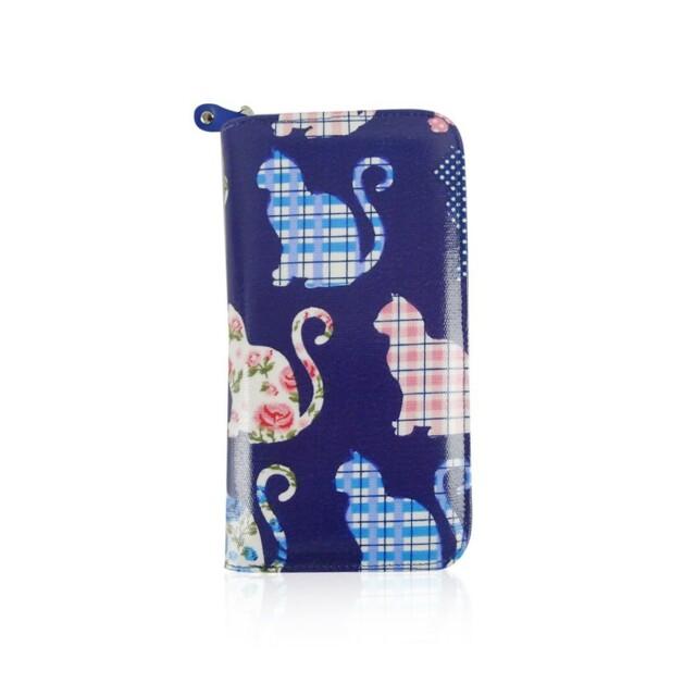 Peněženka Cat Mania - modrá
