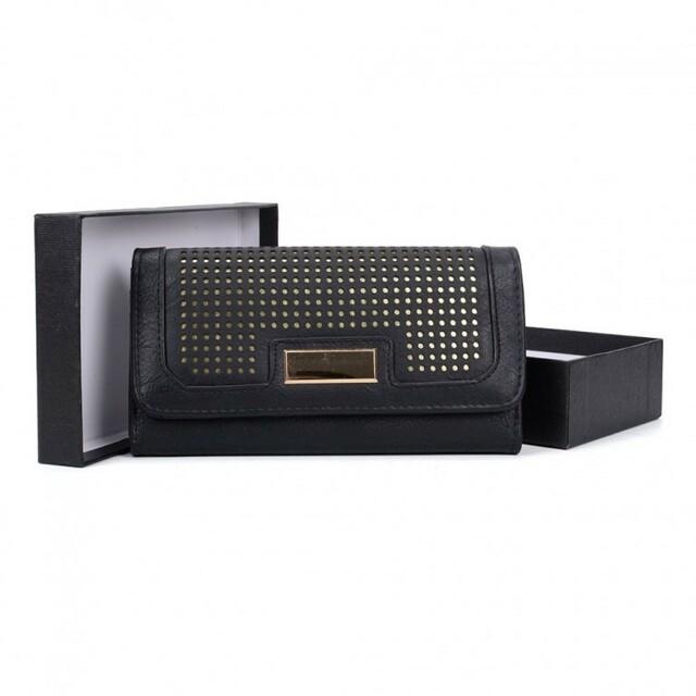 Peněženka Selena Long a.7880 - černá