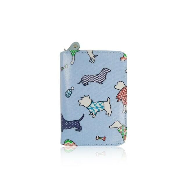 Peněženka Fashion Dogs II - sv. modrá