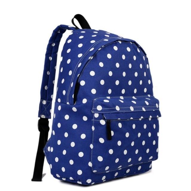 Batoh Lulu Dot - modrá