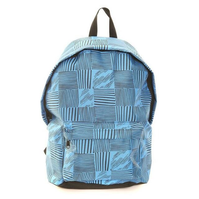 Batoh Hawkins Pattern - modrý