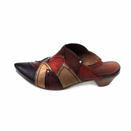 dc0915b84710 Dámská kožená obuv Comma 27306