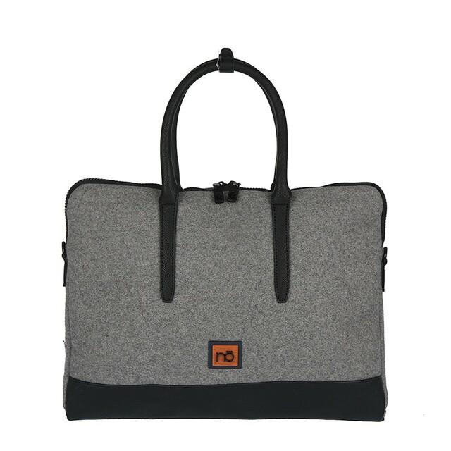 Filcová EKO kabelka Nobo Laptop - šedá