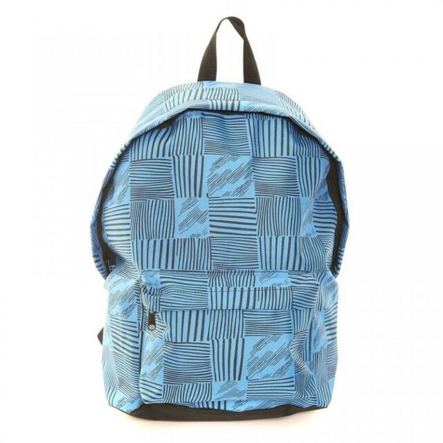 Batoh Hawkins Pattern - modrý - modrá 93262df769