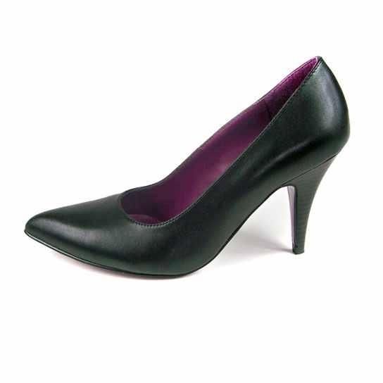 Dámská kožená obuv s.Oliver 22411 - černá