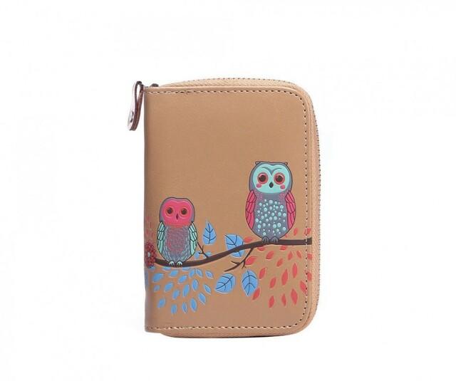 Peněženka Cute Owls - béžová