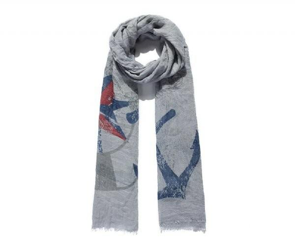 Luxusní šátek Marine Blue