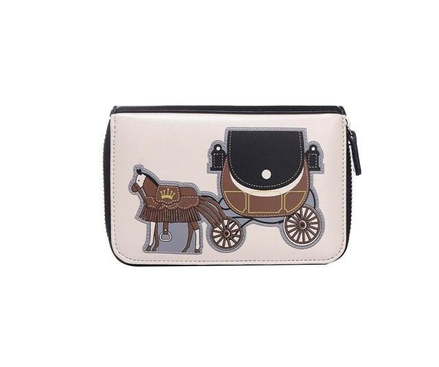 Peněženka Horse Carriage - černá
