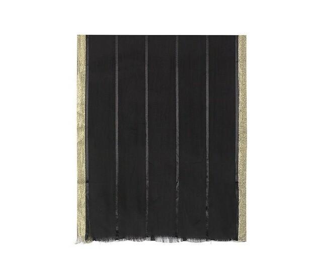 Luxusní šátek Kristel - černý