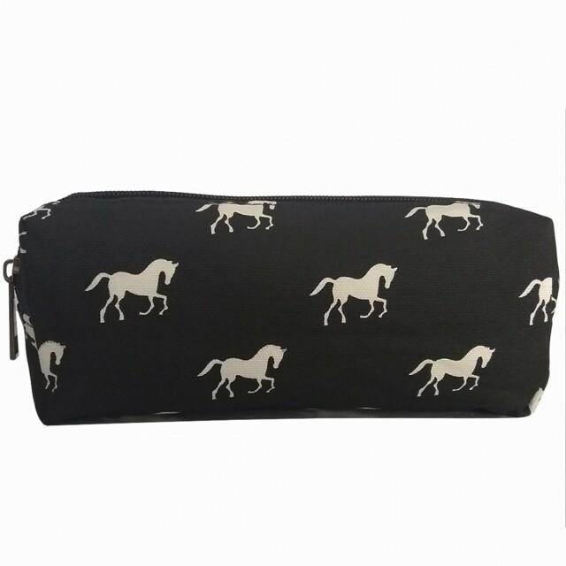 Pouzdro Horse Mania - černé černá - černá