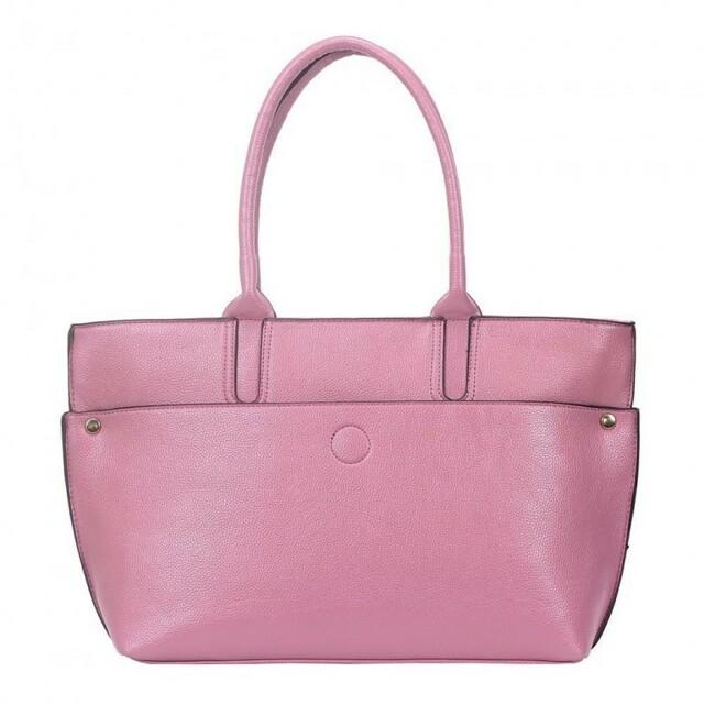Kabelka Iliana Maxi Shopper - růžová II