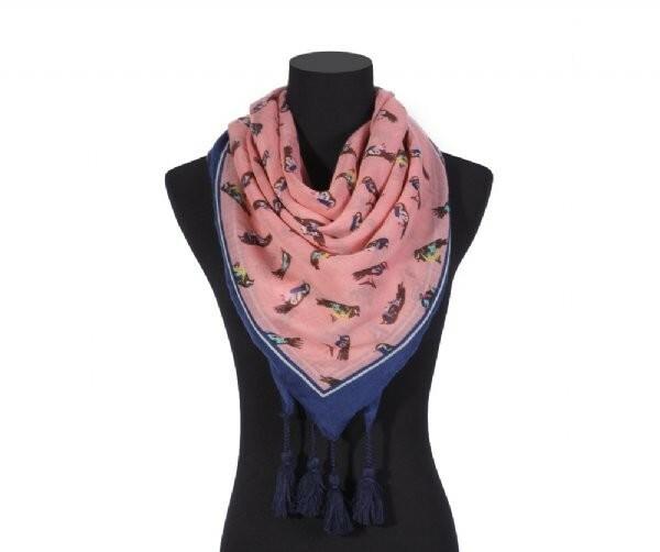Luxusní šátek Tassle Bird II.