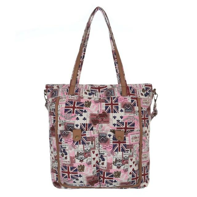 Kabelka K-Fashion Jack Shopper - růžová