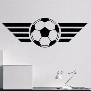 Samolepka na zeď Fotbalový míč 004