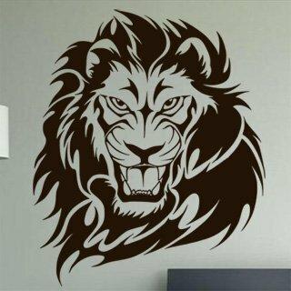 Samolepka na zeď Lev 010