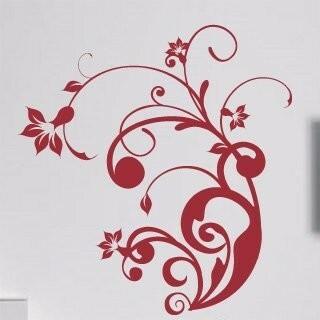 Samolepka na zeď Rostlina 004