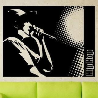 Samolepka na zeď Hip Hop 001