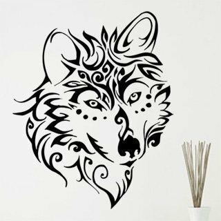Samolepka na zeď Vlk 1409