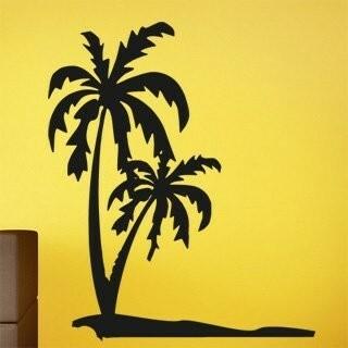 Samolepka na zeď Palmy 0304