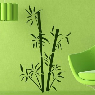 Samolepka na zeď Bambus 002