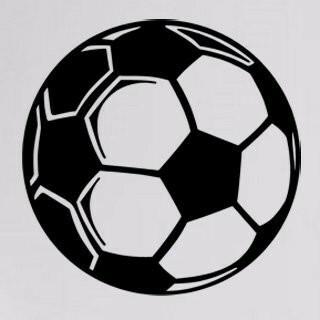 Samolepka na zeď Fotbalový míč 0572