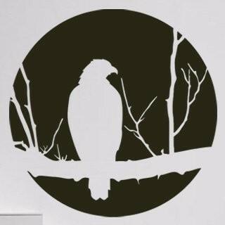 Samolepka na zeď Pták 002