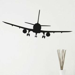 Samolepka na zeď Letadlo 008