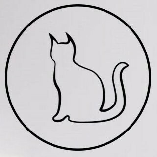 Samolepka na zeď Kočka 0513