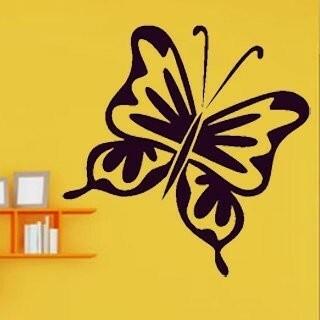 Samolepka na zeď Motýl 005