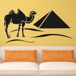 Samolepka na zeď Egypt 002