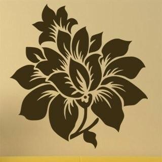 Samolepka na zeď Květiny 007