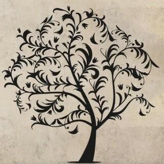 Samolepka na zeď Strom 038