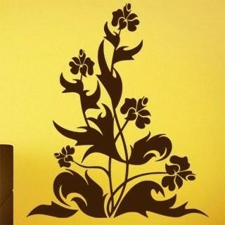 Samolepka na zeď Květiny 035