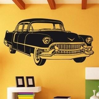 Samolepka na zeď Auto 006