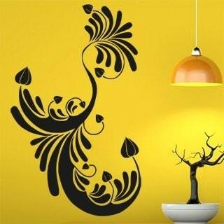 Samolepka na zeď Ornamenty z rostlin 003