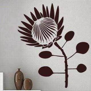 Samolepka na zeď Květiny 013