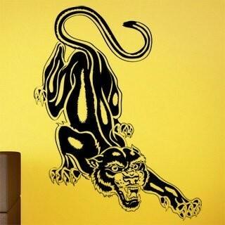 Samolepka na zeď Jaguár 001