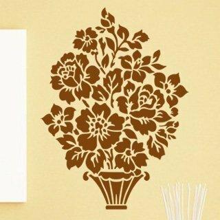 Samolepka na zeď Květiny 006