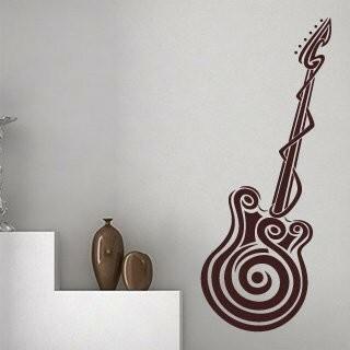 Samolepka na zeď Kytara 001