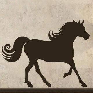 Samolepka na zeď Kůň 019