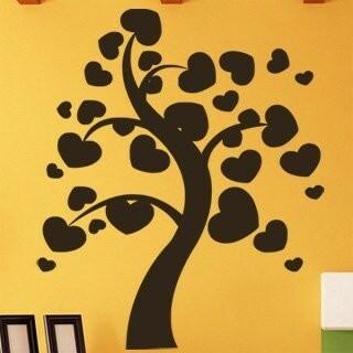 Samolepka na zeď Strom zamilovaných 0230