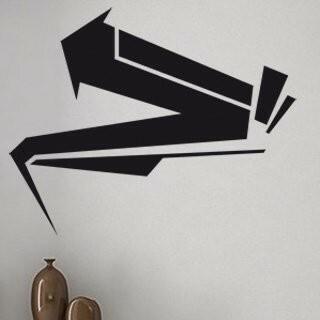 Samolepka na zeď Šipka 008