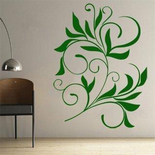 Samolepka na zeď Ornamenty z rostlin 008