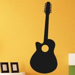 Samolepka na zeď Kytara 010