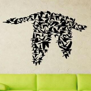 Samolepka na zeď Ptáci 002