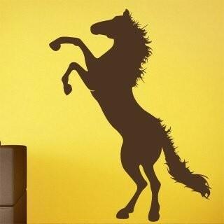 Samolepka na zeď Kůň 005