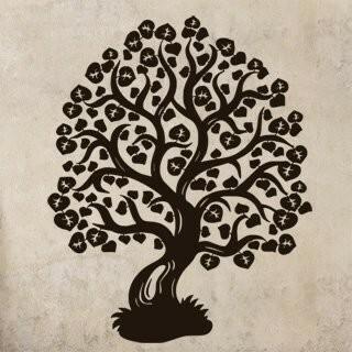 Samolepka na zeď Strom 008
