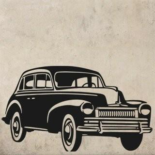 Samolepka na zeď Auto 025