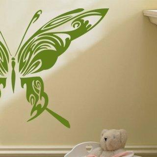 Samolepka na zeď Motýl 014